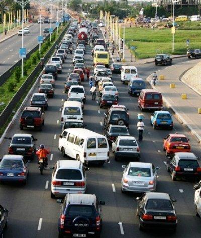 Accra traffic -  courtesy of  Accra Traffic Update